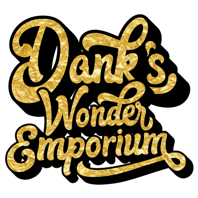 Image result for dank's wonder emporium logo